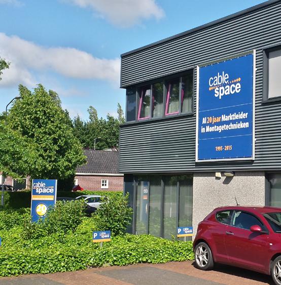 Cablespace pand Nieuwkuijk